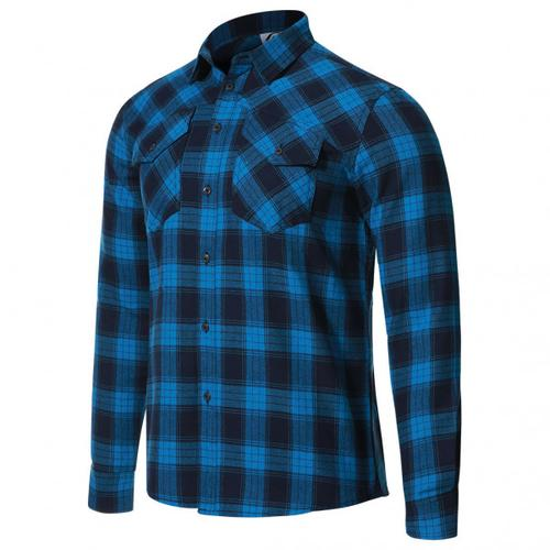 Protective - P-Rockabilly - Hemd Gr 3XL blau/schwarz