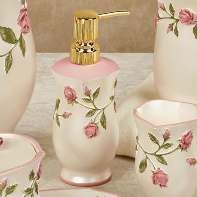 Bridal Rose Lotion Soap Dispenser Blush , Blush
