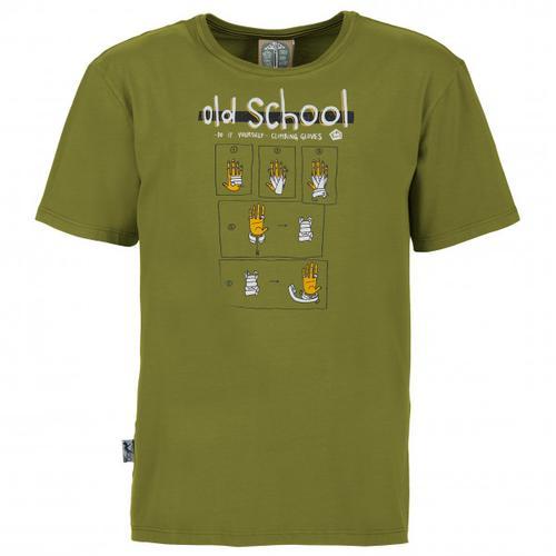 E9 - Old School - T-Shirt Gr S oliv
