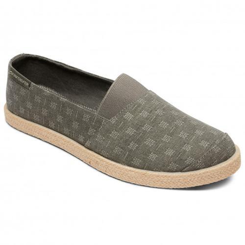 Quiksilver - Espadrilled - Sneaker US 11 - EU 44 oliv/beige