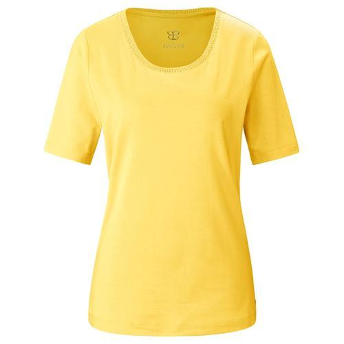 T-Shirt aus unifarbenem Jersey Basler sun