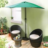 Half Parasol Classic Green By Co...