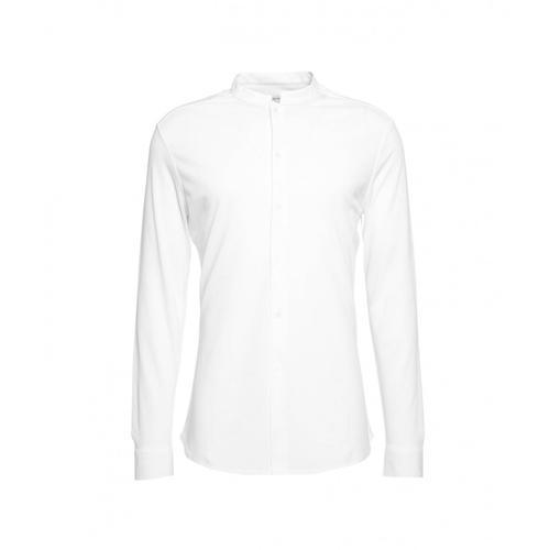 Paolo Pecora Herren Jersey Hemd Weiß