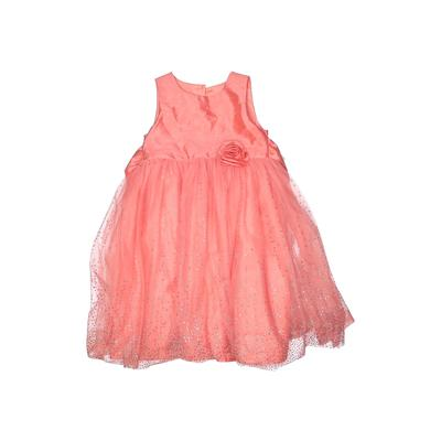 Holiday Editions Special Occasion Dress - A-Line: Orange Skirts & Dresses - Used - Size 4Toddler