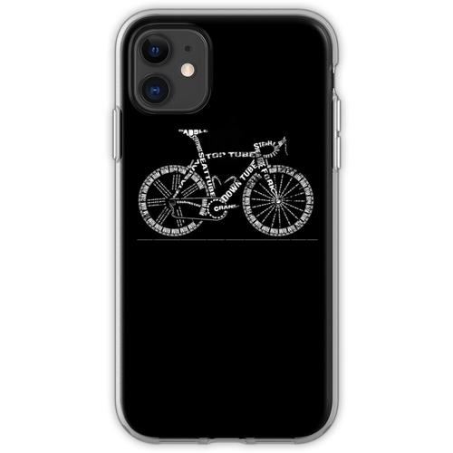 Fahrradgeschenk Drahtesel Flexible Hülle für iPhone 11