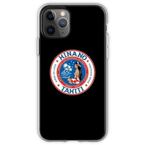 Hinano Tahiti Premium Bier Flexible Hülle für iPhone 11 Pro