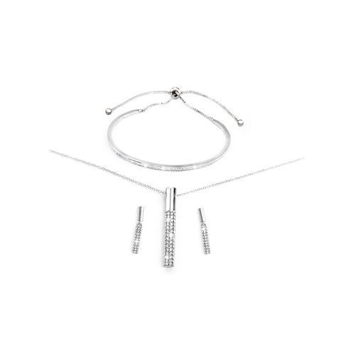 Schmuck-Set: Silber
