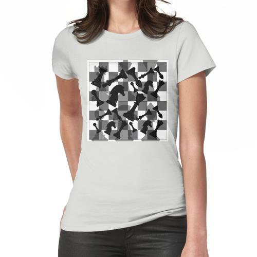 Schachfiguren Frauen T-Shirt