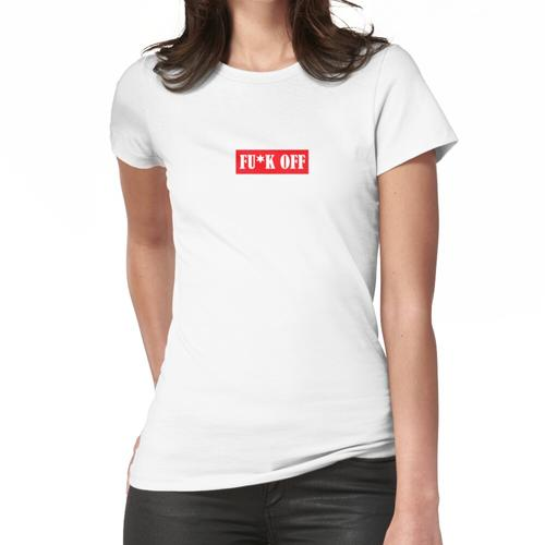 Supreme / Fuck Off - Supreme Slim Fit Frauen T-Shirt