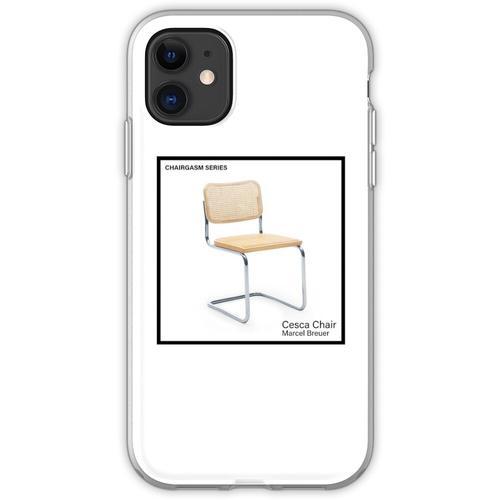 STUHLSERIE - Cesca von Marcel Breuer Flexible Hülle für iPhone 11