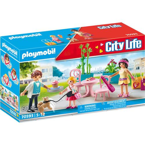 PLAYMOBIL® City Life 70593 Kaffeepause, bunt