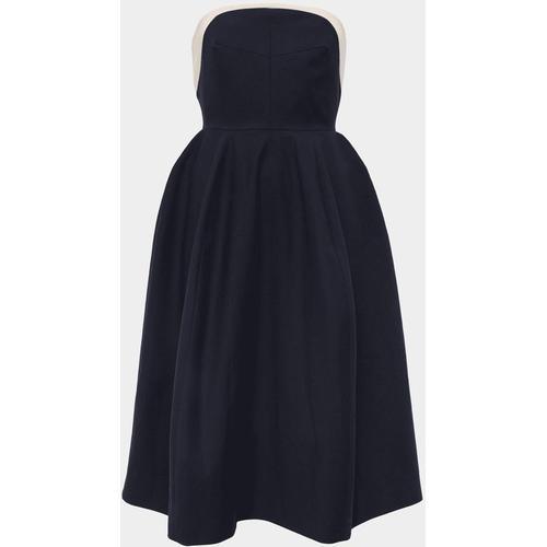 Delpozo Trägerloses Kleid