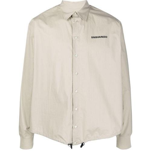 DSquared² Hemd mit Kordelzug-Saum