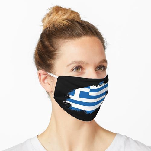 Griechenland griechisch Flagge Fahne Maske