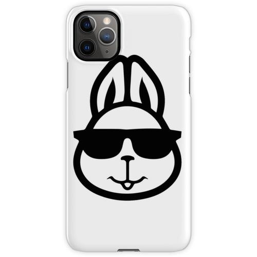 Hase mit Brille - Hase mit Brille lustig - Hase mit Brille Design - Has iPhone 11 Pro Max Handyhülle