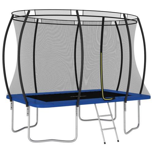 vidaXL Trampolin-Set Rechteckig 274×183×76 cm 150 kg