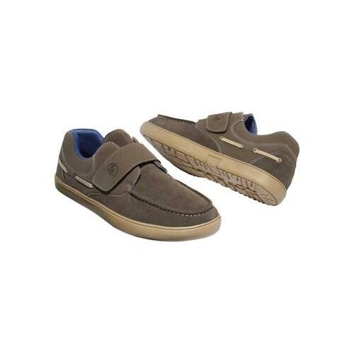 Freizeit-Schuhe im Boots-Look mit Klettlaschen