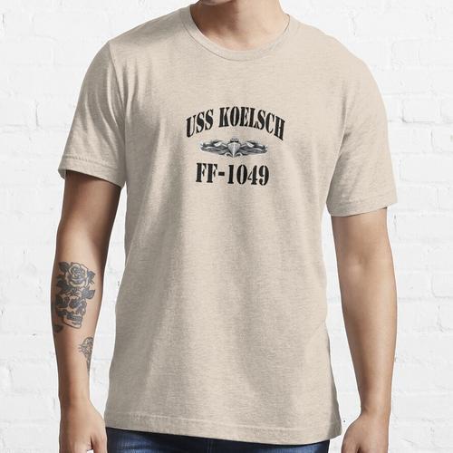 USS KOELSCH (FF-1049) SHIP'S STORE Essential T-Shirt