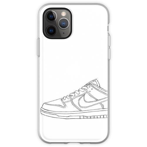 SB Dunk Sketch Sneaker Kunst Flexible Hülle für iPhone 11 Pro