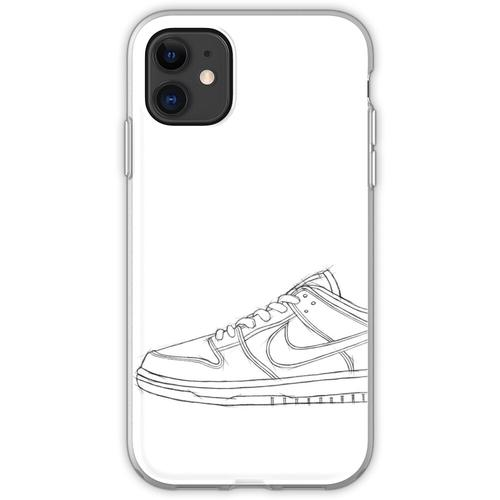 SB Dunk Sketch Sneaker Kunst Flexible Hülle für iPhone 11