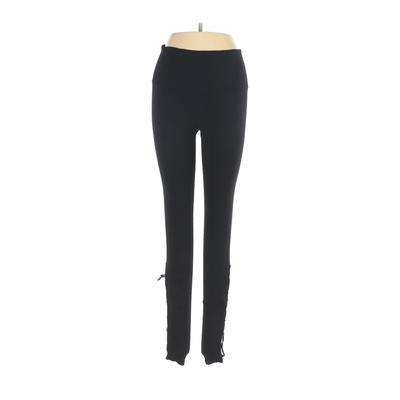 Best Yoga Store Yoga Pants - Mid/Reg Rise: Black Activewear - Size Small