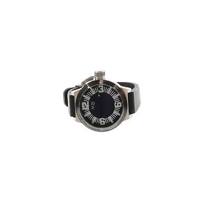 AQS - AQS Watch: Black Graphic Accessories