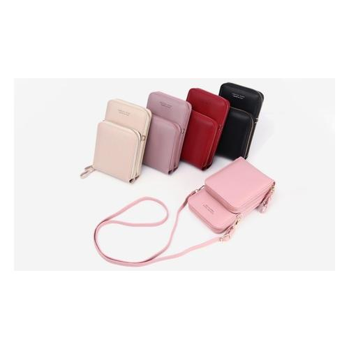 Handy-Umhängetasche: Rot