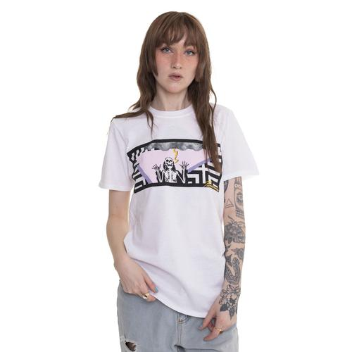 Paramore - Lighning Skelly White - - T-Shirts