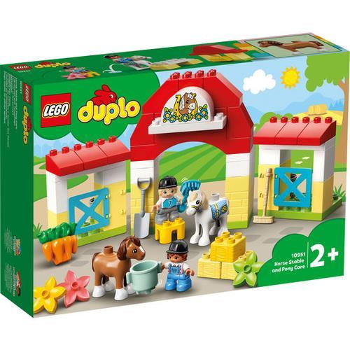 LEGO®DUPLO® 10951 Pferdestall und Ponypflege, bunt