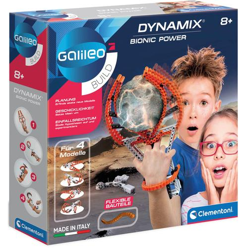 Clementoni Experimentierkasten Galileo Bionic Power - Dynamix mehrfarbig Kinder Experimentieren