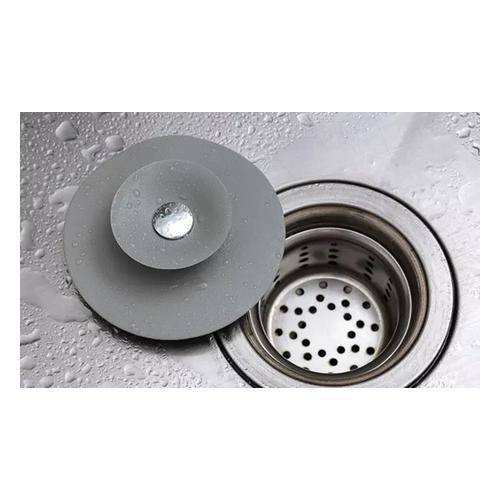 Silikon-Abdeckung für Waschbecken und Abflüsse: 4er-Pack