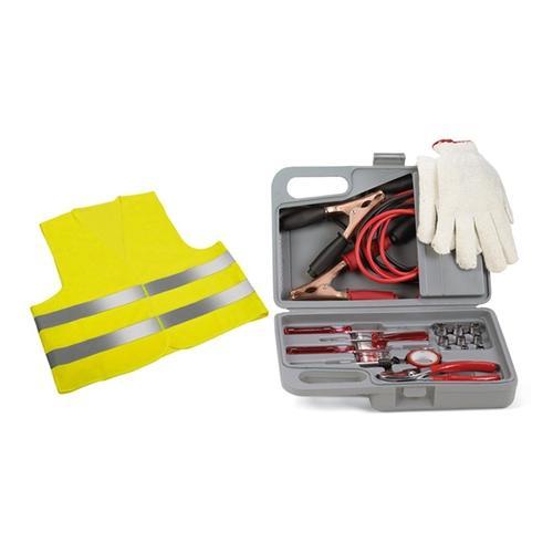 30-tlg. Kfz-Notfallausrüstung-Set