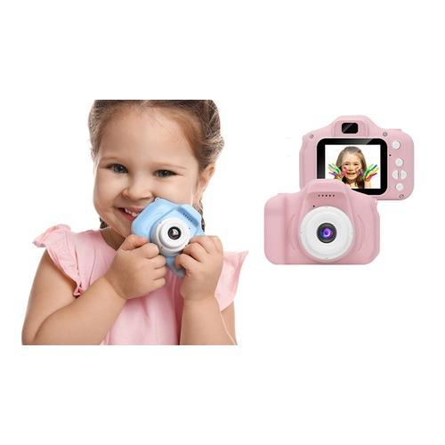 Kamera für Kinder: Pink / Mit Speicherkarte