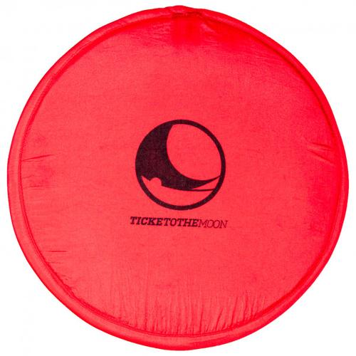 Ticket to the Moon - Pocket Frisbee - Strandspielzeug Gr Ø 25 cm rot