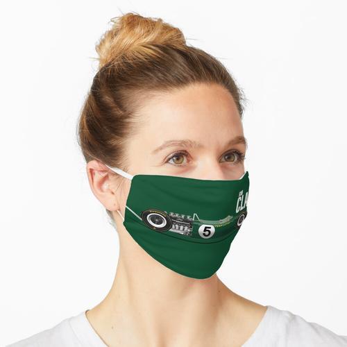 Jim Clark - Lotus 49 Drucken (schneller Text) Maske