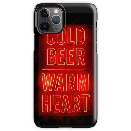 kaltes Bier warmes Herz iPhone 11 Pro Handyhülle