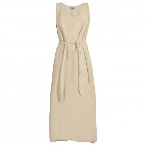 Deha - Women's Belted Long Dress - Kleid Gr S beige