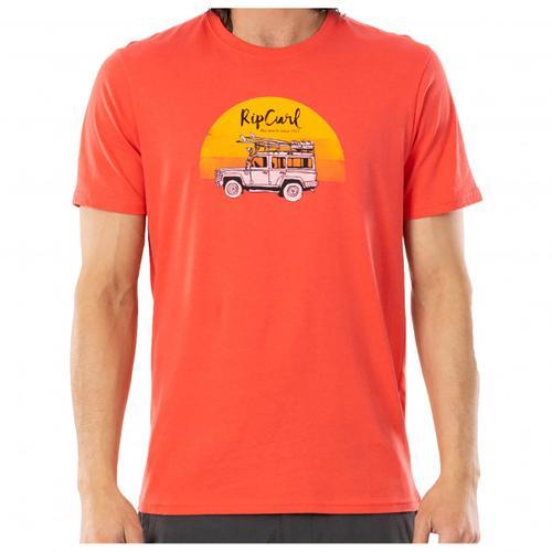 Rip Curl - Endless Search Tee - T-Shirt Gr XXL rot/beige