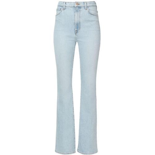 J Brand Hochtaillierte Jeans Aus Denim