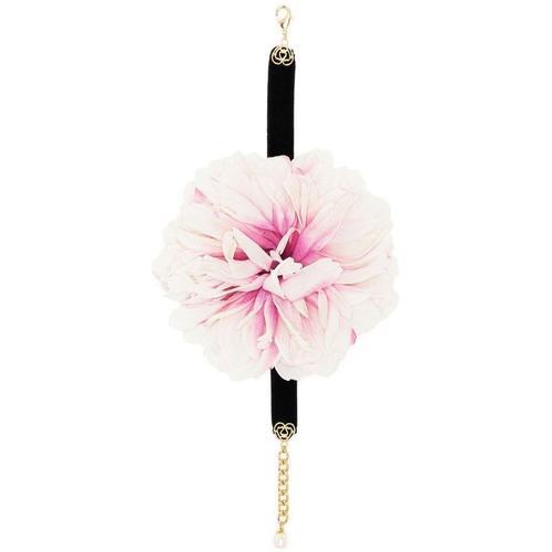 Dolce & Gabbana Choker mit Kristallblumen