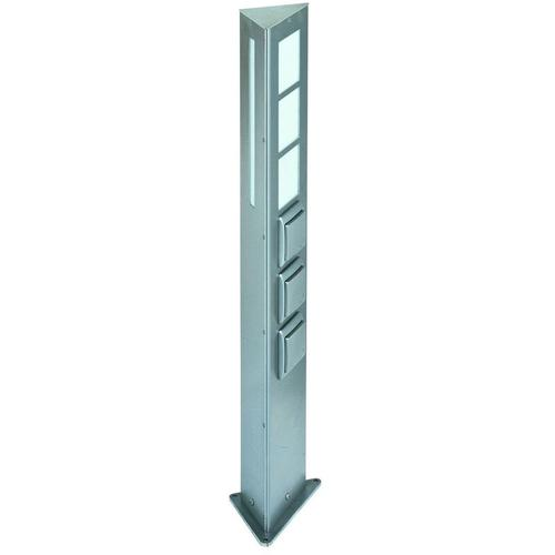Steckdosensäule E27 max. 20W 1xSchalter 2xSteckdose