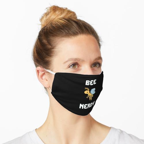 Bee Nerdy Imker Bienenfreund Bienenfan Maske