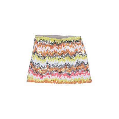 Flowers By Zoe Skirt: Orange Skirts & Dresses - Size Medium