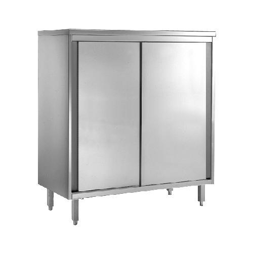 GGG Geschirrschrank aus CNS 18-10, 2000x700x2000mm