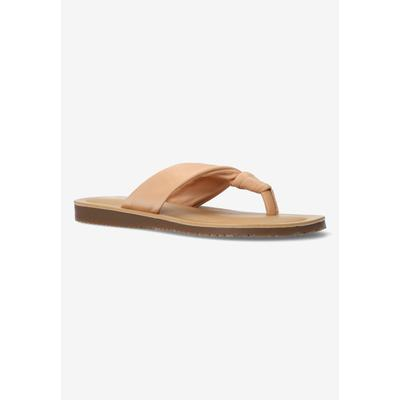 Women's Cov-Italy Sandal by Bella Vita in Natural Italian Leather (Size 8 1/2 M)