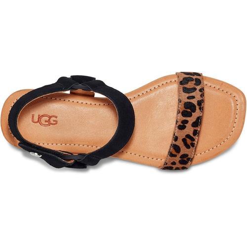 Ugg Rynell Leopard Sandalen für