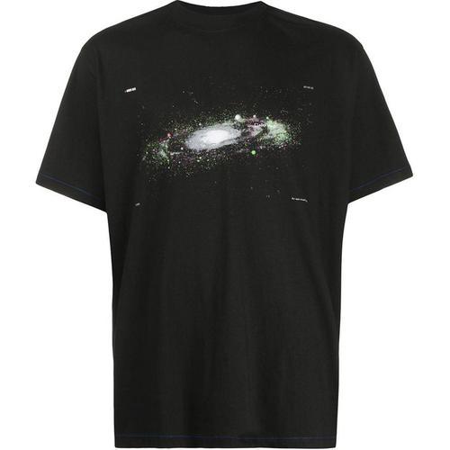 ADER ERROR T-Shirt mit Planeten-Print