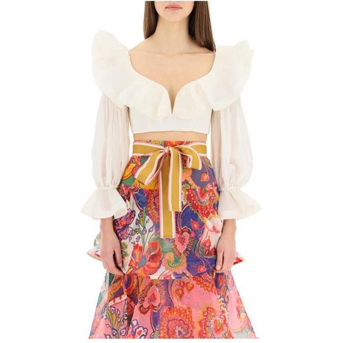 Zimmermann Cropped top