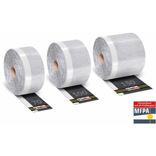 Fensterdichtband Flexband Fensterband Dichtband für Fenster ,Außen PROFI Ware Breite: 70mm Länge: