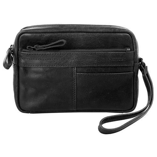 Spikes & Sparrow Handgelenktasche WRIST BAG schwarz Damen Handgelenkstaschen Taschen